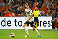 Toni Kroos (Deutschland Germany) - 13.10.2018: Niederlande vs. Deutschland, 3. Spieltag UEFA Nations League, Johann Cruijff Arena Amsterdam, DISCLAIMER: DFB regulations prohibit any use of photographs as image sequences and/or quasi-video.