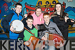 The Ballydonoghue-Lisselton youth club ready for their session at the KDYS Regional Variety Finals at the CBS NS, Tralee on Saturday front l-r: Stephen Foley and Kevin O'Neill. Back l-r: Kilian O'Carroll, Cliona Doyle and Moira O'Connell.