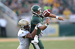 Baylor Bears quarterback Bryce Petty (14) in action during the game between the Wofford Terriers and the Baylor Bears at the Floyd Casey Stadium in Waco, Texas. Baylor leads Woffard 38 to 0 at halftime.