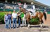 Crimson Pride winning at Delaware Park racetrack on 6/2/14
