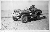 BNPS.co.uk (01202 558833)<br /> Pic: SusanBond/BNPS<br /> <br /> Susan's father Peter in the Western Desert during the war.<br /> <br /> Military museum in hot water over missing medals..<br /> <br /> A woman whose father and grandfather donated their highly-valuable gallantry medals to an army museum is furious they have disappeared having been suspiciously substituted for duplicates.<br /> <br /> Susan Bond, whose husband Richard is a retired crown court judge, discovered the two Military Cross groups at the The Royal Green Jackets Museum are not the ones bequeathed to them after one set appeared on the open market.<br /> <br /> Mrs Bond confronted the trustees at the museum, whose former Colonel-in-Chief was the Queen, but the 70-year-old has been left dismayed at their 'indifferent' response at the loss which they have been unable to properly explain.<br /> <br /> The owners - the museum based in Winchester, Hants - said they were satisfied that no criminal activity had taken place and the police investigation came to nothing.