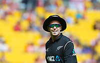 Blackcaps Tim Southee during the third ODI cricket match between the Blackcaps & England at Westpac stadium, Wellington. 3rd March 2018. © Copyright Photo: Grant Down / www.photosport.nz