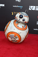 LOS ANGELES - SEP 13:  BB8 at the 2019 Saturn Awards at the Avalon Hollywood on September 13, 2019 in Los Angeles, CA