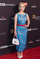 Emilia Clarke attends the BAFTA Los Angeles Awards Season Tea Party at Hotel Four Seasons in Beverly Hills, California, USA, on 06 January 2018. Photo: Hubert Boesl - NO WIRE SERVICE - Photo: Hubert Boesl/dpa /MediaPunch ***FOR USA ONLY***