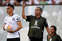 11th March 2020; Estadio Monumental David Arellano; Santiago, Chile; Copa Libertadores, Colo Colo versus Athletico Paranaense; Colo-Colo manager Gualberto Jara