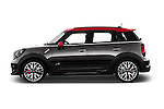 Car Driver side profile view of a 2016 MINI Countryman JCW 5 Door Hatchback Side View