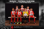 Olympic FC Miniroos Under 8 Red Silver 2018