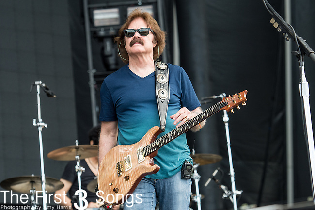 Tom Johnston of The Doobie Brothers performs onstage during The Tortuga Music Festival in Fort Lauderdale, Florida.