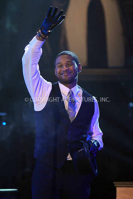 WWW.ACEPIXS.COM . . . . . ....March 30 2010, New York City....Recording artist Usher performed live on ABC's 'Good Morning America' tv show at the Nokia Theatre on March 30, 2010 in New York City. ....Please byline: KRISTIN CALLAHAN - ACEPIXS.COM.. . . . . . ..Ace Pictures, Inc:  ..tel: (212) 243 8787 or (646) 769 0430..e-mail: info@acepixs.com..web: http://www.acepixs.com