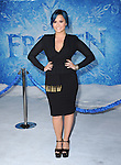 Hollywood, CA - NOVEMBER 19: Demi Lovato arrives at The Disney FROZEN Premiere held at The El Capitan Theatre in Hollywood, California on November 19,2012                                                                               © 2013 Hollywood Press Agency