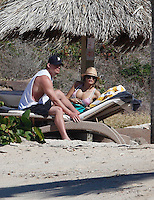 Channing Tatum relaxes with pregnant wife Jenna Dewan in Saint Barths