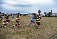 Action from the Horowhenua-Kapiti premier club rugby union match between Foxton and Levin College Old Boys at Easton Park in Foxton, New Zealand on Saturday, 6 April 2019. Photo: Dave Lintott / lintottphoto.co.nz