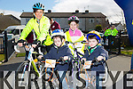 At the St Brendan's NS FENIT Coastal Cycle on Saturday were Delores Parker, Jamie Parker, Gary Parker, Lile Parker