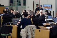 Roma, 19 Novembre 2015<br /> Aula bunker di Rebibbia<br /> Giovanni Fiscon ex AD AMA<br /> Terza udienza del processo Mafia Capitale,