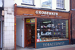 AMHK58 Traditional tobacconist shop Cromer Norfolk England
