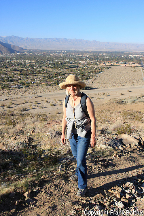 Hiking above Palm Springs