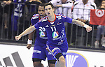 12.01.2013 Granollers, Spain. IHF men's world championship, prelimanary round. Picture show Samuel Honrubia in action during game between France vs Tunisia at Palau d'esports de Granollers