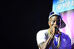 MIAMI, FL - JULY 19: Lil Boosie performing live in concert during the TD2CH Tour at The James L Knight Center on July 19, 2014 in Miami, Florida.  (Photo by Johnny Louis/jlnphotography.com)