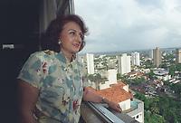 Belem - 06-07-2001- foto da deputada federal Elcione Barbalho em seu apartamento em Belem - Foto-Ary Souza /O Liberal