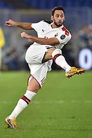 Hakan Calhanoglu of AC Milan <br /> Roma 27-10-2019 Stadio Olimpico <br /> Football Serie A 2019/2020 <br /> AS Roma - AC Milan<br /> Foto Andrea Staccioli / Insidefoto