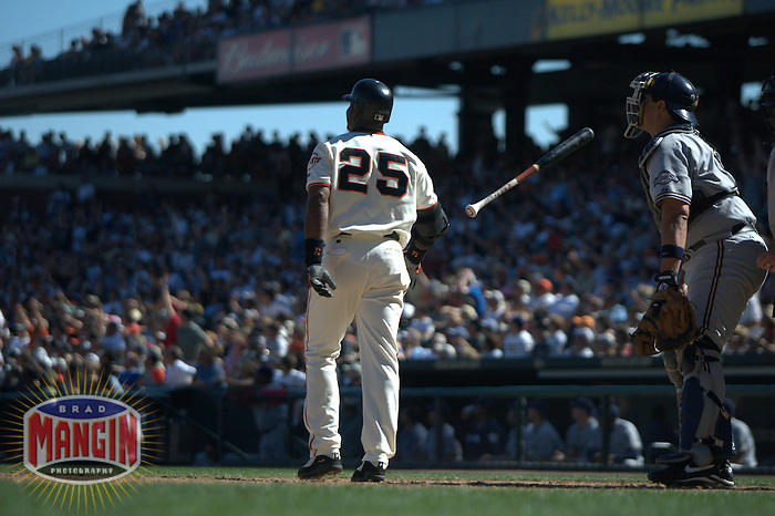 Barry Bonds. Milwaukee Brewers vs San Francisco Giants. San Francisco, CA 9/13/2003 MANDATORY CREDIT: Brad Mangin
