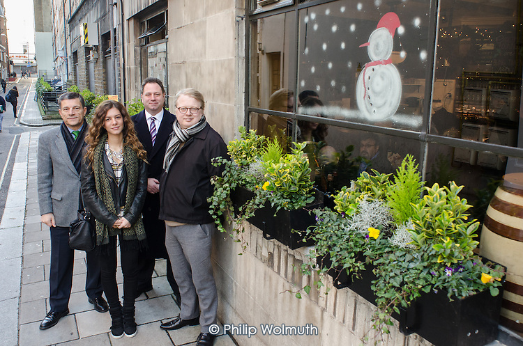 Paddington BID: greening initiative in Conduit Place