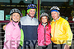 Maria Woulfe, Liam Kennedy, Suzanne Quill and Dan McCarthy preparing for the Longest day challenge in Castleisland on Saturday morning