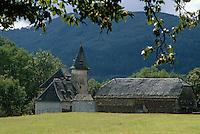 Europe/France/Limousin/19/Corrèze/Vallée de la Dordogne/Env Argentat: Ferme