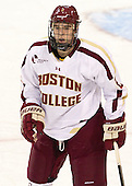 Colin Sullivan (BC - 2) - The Boston College Eagles defeated the visiting Boston University Terriers 5-2 on Saturday, December 1, 2012, at Kelley Rink in Conte Forum in Chestnut Hill, Massachusetts.