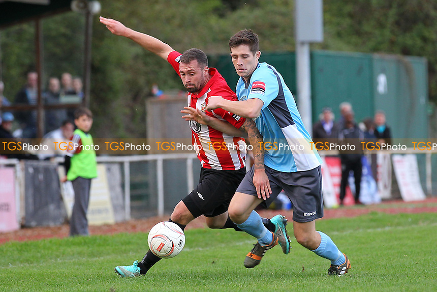 Billy Coyne in action for Hornchurch - AFC Hornchurch vs Enfield Town - Ryman League Premier Division Football at The Stadium, Bridge Avenue - 25/10/14 - MANDATORY CREDIT: Gavin Ellis/TGSPHOTO - Self billing applies where appropriate - contact@tgsphoto.co.uk - NO UNPAID USE