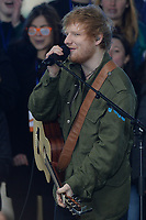 www.acepixs.com<br /> March 8, 2017 New York City<br /> <br /> Ed Sheeran performing on NBC's 'Today' at Rockefeller Plaza on March 8, 2017 in New York City. <br /> <br /> Credit: Kristin Callahan/ACE Pictures<br /> <br /> Tel: (646) 769 0430<br /> e-mail: info@acepixs.com
