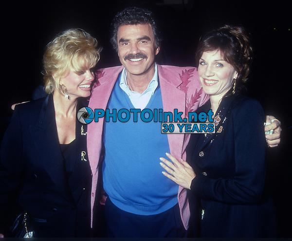 Loni Anderson Burt Reynolds Marilu Henner, 1992, Photo By Michael Ferguson/PHOTOlink