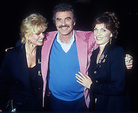 Loni Anderson Burt Reynolds Marilu Henner, 1992, Photo By Michael Ferguson/PHOTOlink