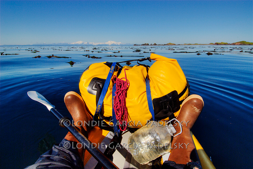 Sea Kayaking at Shuyak Island, Alaska.