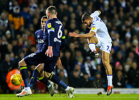 Leeds United's Kemar Roofe shoots at goal <br /> <br /> Photographer Alex Dodd/CameraSport<br /> <br /> The EFL Sky Bet Championship -  Leeds United v Derby County - Friday 11th January 2019 - Elland Road - Leeds<br /> <br /> World Copyright &copy; 2019 CameraSport. All rights reserved. 43 Linden Ave. Countesthorpe. Leicester. England. LE8 5PG - Tel: +44 (0) 116 277 4147 - admin@camerasport.com - www.camerasport.com