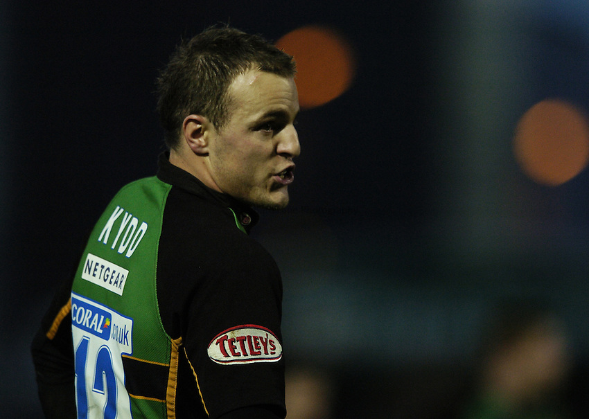 Photo: Jonathan Butler..Northampton Saints v Leicester Tigers. EDF Energy Anglo Welsh Cup. 02/12/2006..Robbie Kydd of Northampton.