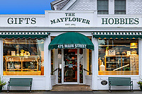 The charming Mayflower Gift shop, Chatham, Cape Cod, Massachusetts, USA.