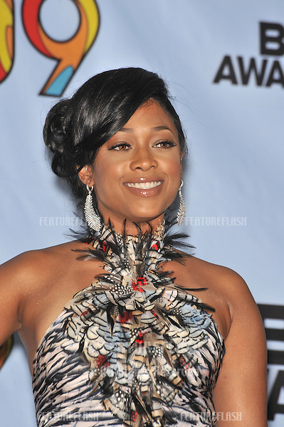 Trina at the 2009 BET Awards (Black Entertainment Television) at the Shrine Auditorium..June 28, 2009  Los Angeles, CA.Picture: Paul Smith / Featureflash