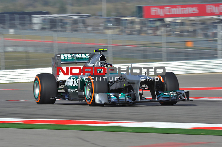 15.-17.11.2013, Circuit of The Americas, Austin, USA, FIA, Formel 1, United States Grand Prix, Qualifikation, im Bild  <br />  Foto &copy; nph / Mathis