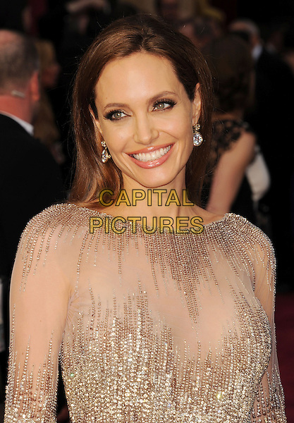 HOLLYWOOD, CA- MARCH 02:  Actress Angelina Jolie attends the 86th Annual Academy Awards held at Hollywood &amp; Highland Center on March 2, 2014 in Hollywood, California.<br /> CAP/ROT/TM<br /> &copy;Tony Michaels/Roth Stock/Capital Pictures