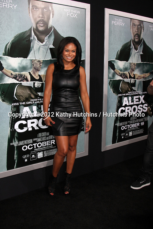 "LOS ANGELES - OCT 15:  Joyful Drake arrives at the ""Alex Cross"" Premiere at ArcLight Cinemas Cinerama Dome on October 15, 2012 in Los Angeles, CA"