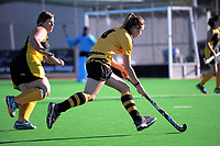 Action from the Wairarapa premier one women's hockey match between Dalefield and Gladstone at Twin Turfs in Clareville, New Zealand on Saturday, 22 April 2017. Photo: Dave Lintott / lintottphoto.co.nz