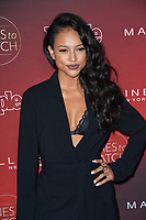 Karrueche Tran at the 2017 People's &quot;Ones To Watch&quot; event at NeueHouse Hollywood, Los Angeles, USA 04 Oct. 2017<br /> Picture: Paul Smith/Featureflash/SilverHub 0208 004 5359 sales@silverhubmedia.com