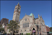 BNPS.co.uk (01202 558833).Pic: BrianPhilips/BNPS..The Old South Church in Boston, Mass - Selling the book...The most expensive book in the world is coming up for auction at Sothebys - But you will need a whopping £20million to buy it...The historic Book of Psalms was printed by the Pilgrim Fathers on their arrival in the New World in 1640 -making it the first book ever printed in America...The Pilgrims had left Britain for a new life of religious freedom and this prayer book was a tangible example of their new found liberty - containing a text much closer to the hebrew oiginal than would be permitted in Europe...The book was printed in Cambridge Massachusetts in 1640 and is one of only 11 still known to exist...With a £20million estimate the book is even more valuable than Shakespeare's First Folio or the Gutenberg Bible. Making it by far the most expensive printed book in the world...Sothebys New York - 26th Nov - Est £20million. ..