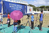 Roma 03-09-2017 Stadio dei Marmi <br /> Roma 2017 Hyundai Archery World Cup Final <br /> Finale Coppa del mondo tiro con l'arco <br /> Foto Andrea Staccioli Insidefoto/Fitarco