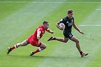 New Zealand v Canada. Action from the 2019 HSBC World Sevens Series Hamilton at FMG Stadium in Hamilton, New Zealand on Saturday, 26 January 2018. Photo: Shane Wenzlick / lintottphoto.co.nz