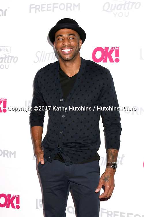 LOS ANGELES - MAY 17:  Agu Ukaogo at the OK! Magazine Summer Kick-Off Party at the W Hollywood Hotel on May 17, 2017 in Los Angeles, CA