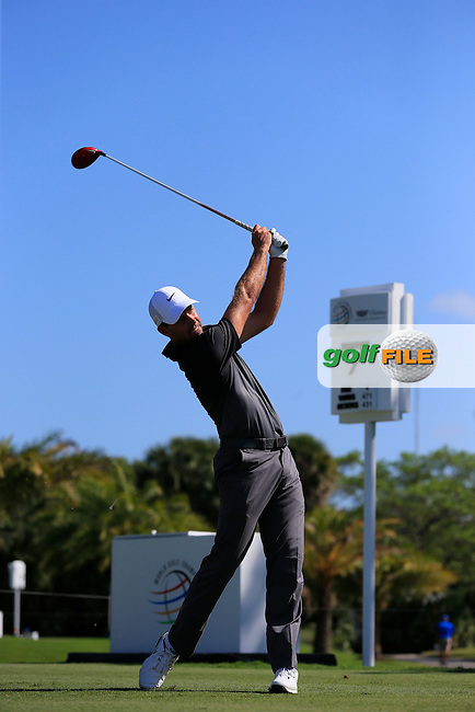 Thomas Aiken (RSA) during the 1st round at the WGC Cadillac Championship, Blue Monster, Trump National Doral, Doral, Florida, USA<br /> Picture: Fran Caffrey / Golffile