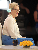 NEW YORK, NY-August 09: Meryl Streep at Good Morning America to talk about her new movie Florence Foster Jenkins' in New York. NY August 09, 2016. Credit:RW/MediaPunch