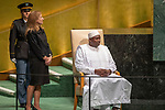 DSG meeting<br /> <br /> AM Plenary General DebateHis<br /> <br /> His Excellency Adama BARROW President of the Republic of The Gambia